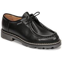 Schuhe Herren Derby-Schuhe Pellet Macho Schwarz