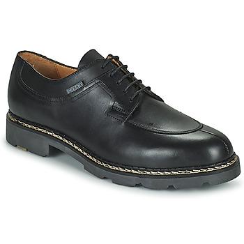Schuhe Herren Derby-Schuhe Pellet Montario Schwarz