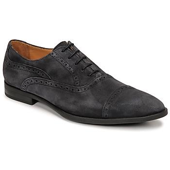 Schuhe Herren Richelieu Pellet ALEX Blau