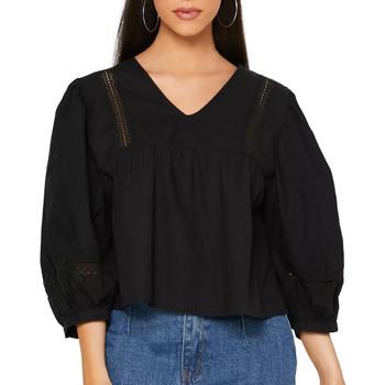 Kleidung Damen Hemden Jacqueline De Yong 15211828 Schwarz