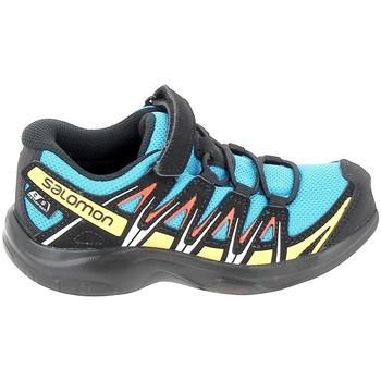 Schuhe Sneaker Low Salomon Xa Pro 3D CSWP C Bleu Noir Blau