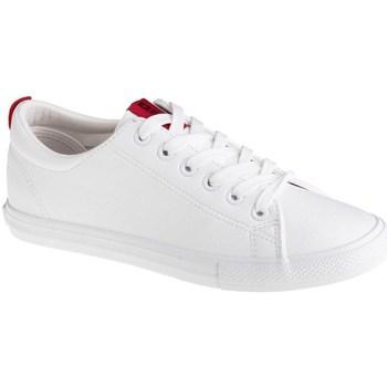 Schuhe Damen Sneaker Low Big Star DD274685 Weiß