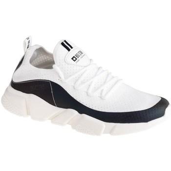 Schuhe Damen Sneaker Low Big Star FF274A052 Weiß, Schwarz