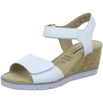 Schuhe Damen Sandalen / Sandaletten Sioux Sandaletten 63466 weiß