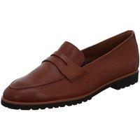 Schuhe Damen Slipper Paul Green Slipper 2493-005 braun