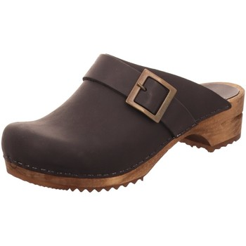 Schuhe Damen Pantoletten / Clogs Sanita Pantoletten 453062-02 schwarz