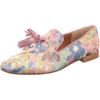 Schuhe Damen Slipper Pedro Miralles Slipper 18037-platino bunt
