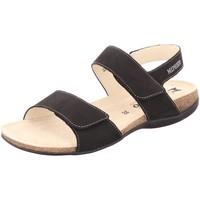 Schuhe Damen Sandalen / Sandaletten Mephisto Sandaletten Agave-6900 schwarz