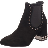 Schuhe Damen Low Boots Pedro Miralles Stiefeletten 24608-negro schwarz