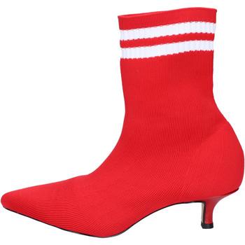 Schuhe Damen Low Boots Olga Rubini BJ427 Rot
