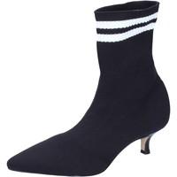 Schuhe Damen Low Boots Olga Rubini BJ428 Schwarz