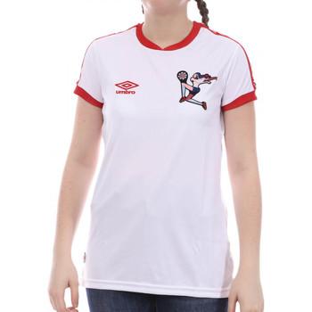 Kleidung Mädchen T-Shirts Umbro 773860-50 Weiss