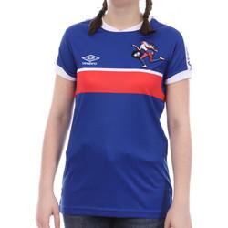 Kleidung Mädchen T-Shirts Umbro 773880-50 Blau