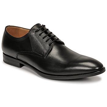 Schuhe Herren Derby-Schuhe Pellet Alibi Schwarz