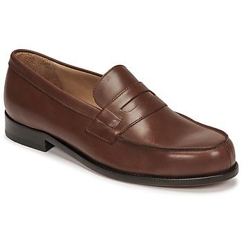 Schuhe Herren Slipper Pellet Colbert Braun