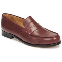 Schuhe Herren Slipper Pellet Colbert Rot