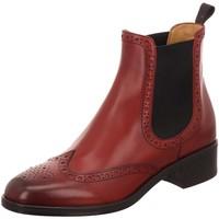 Schuhe Damen Low Boots Triver Flight Stiefeletten 05-rosso rot