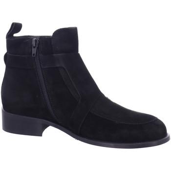 Schuhe Damen Boots Pedro Miralles Stiefeletten 25109-negro schwarz