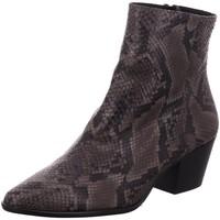 Schuhe Damen Low Boots Pedro Miralles Stiefeletten 25308-asphalt animal