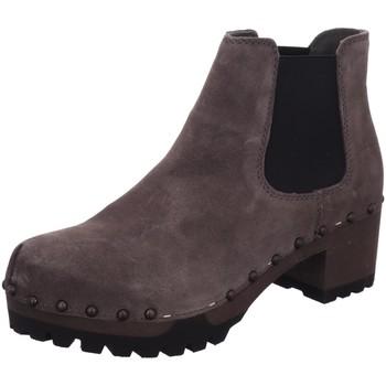 Schuhe Damen Low Boots Softclox Stiefeletten 3358-26 -> grau
