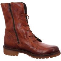 Schuhe Damen Boots Lazamani Stiefeletten 74.440-cognac braun