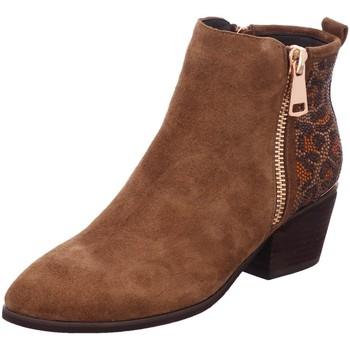 Schuhe Damen Low Boots Alma En Pena Stiefeletten 237-camel braun