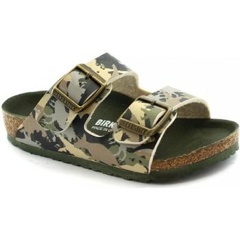 Schuhe Kinder Pantoffel Birkenstock BIR-RRR-1012684-KH Verde