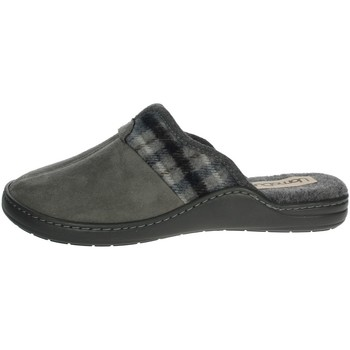 Schuhe Herren Pantoffel Uomodue PANNO  SCOZZESE-65 Braun