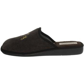Schuhe Herren Hausschuhe Uomodue LORD-5 Braun