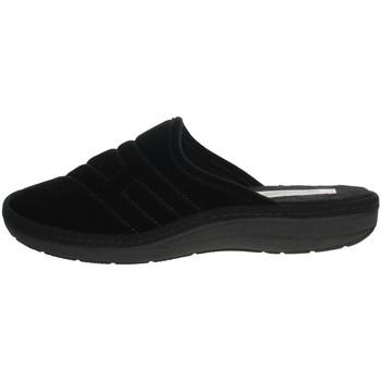 Schuhe Herren Pantoffel Uomodue FELTRO FONT-39 Schwarz