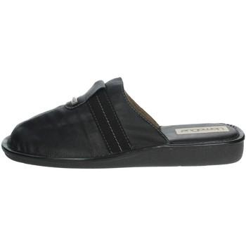 Schuhe Herren Pantoffel Uomodue CLASSIC-88 Schwarz