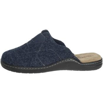 Schuhe Herren Pantoffel Uomodue ALCANTA-1 Blau