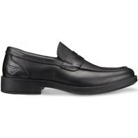 Schuhe Herren Slipper Docksteps DSM101601 Schwarz