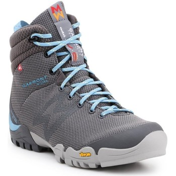 Schuhe Damen Wanderschuhe Garmont Trekkingschuhe  Integra High WP Thermal WMS 481051-603 blau, grau