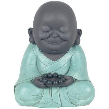 Home Statuetten und Figuren Signes Grimalt Smiling Buddha mit T-Licht Multicolor