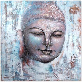 Home Gemälde, Leinwände Signes Grimalt Buddha-Malerei Multicolor