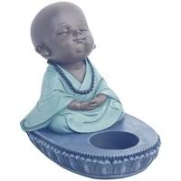 Home Kerzenhalter, Kerzengläser Signes Grimalt Buddha T-Lite Azul
