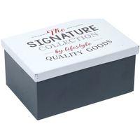 Home Koffer, Aufbewahrungsboxen Signes Grimalt Metall-Box Multicolor