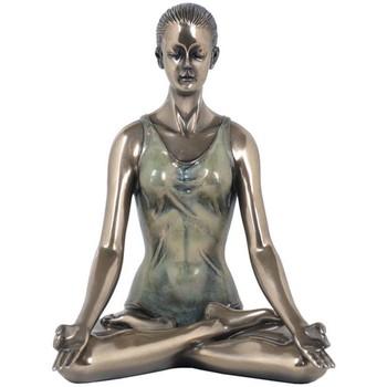 Home Statuetten und Figuren Signes Grimalt Yoga-Lotus-Pose Marrón
