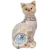 Home Statuetten und Figuren Signes Grimalt Kleine Katze Spiegel Marrón