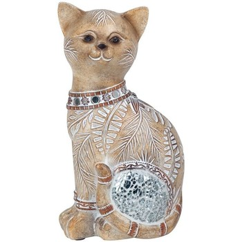 Home Statuetten und Figuren Signes Grimalt Cat Spiegel Marrón