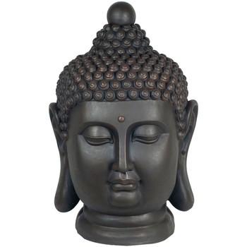 Home Statuetten und Figuren Signes Grimalt Buddha-Kopf Magnesia Negro