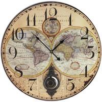 Home Uhren Signes Grimalt Kartenuhren Beige