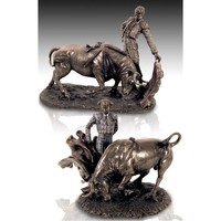 Home Statuetten und Figuren Signes Grimalt Stierkämpfer Dorado