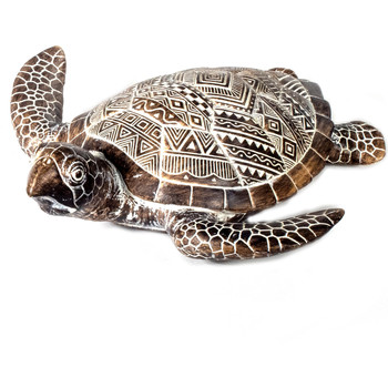 Home Statuetten und Figuren Signes Grimalt Schildkröte Marrón