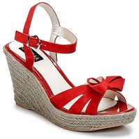 Schuhe Damen Sandalen / Sandaletten C.Petula SUMMER Rot