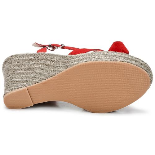 C.Petula SUMMER Rot Schuhe Sandalen / Sandaletten Damen 94,50