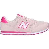 Schuhe Mädchen Multisportschuhe New Balance YC373SPW Rosa