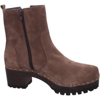 Schuhe Damen Boots Softclox Stiefeletten 3491-07 beige
