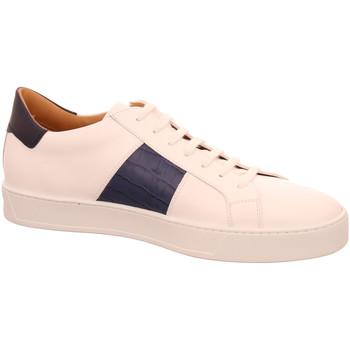 Schuhe Herren Sneaker Low Triver Flight 05C-bianco/blu weiß